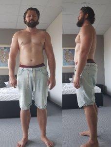 Bodytransformation Woche 0