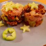 Linsenrösti mit Lachs-Avocado Topping