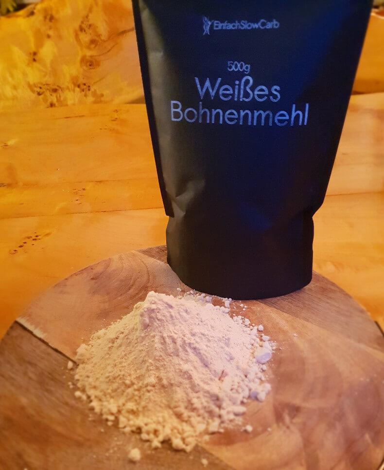 Weißes Bohnenmehl