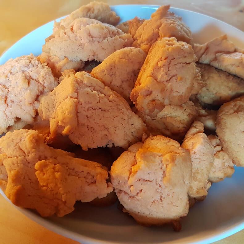 Linsenmehl Protein Kekse