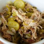 Pulled Pork-Bohnen-Salat