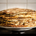 Slow Carb Erbsen-Pfannkuchen